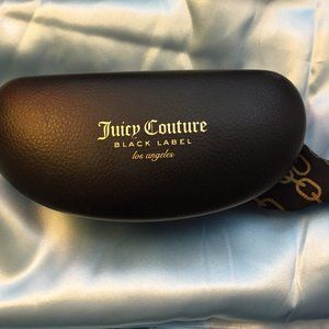 Juicy Couture Black Sunglasses Case